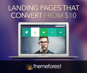 Landing pages that convert - ThemeForest