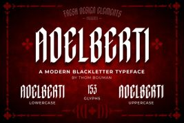 Adelberti Blackletter